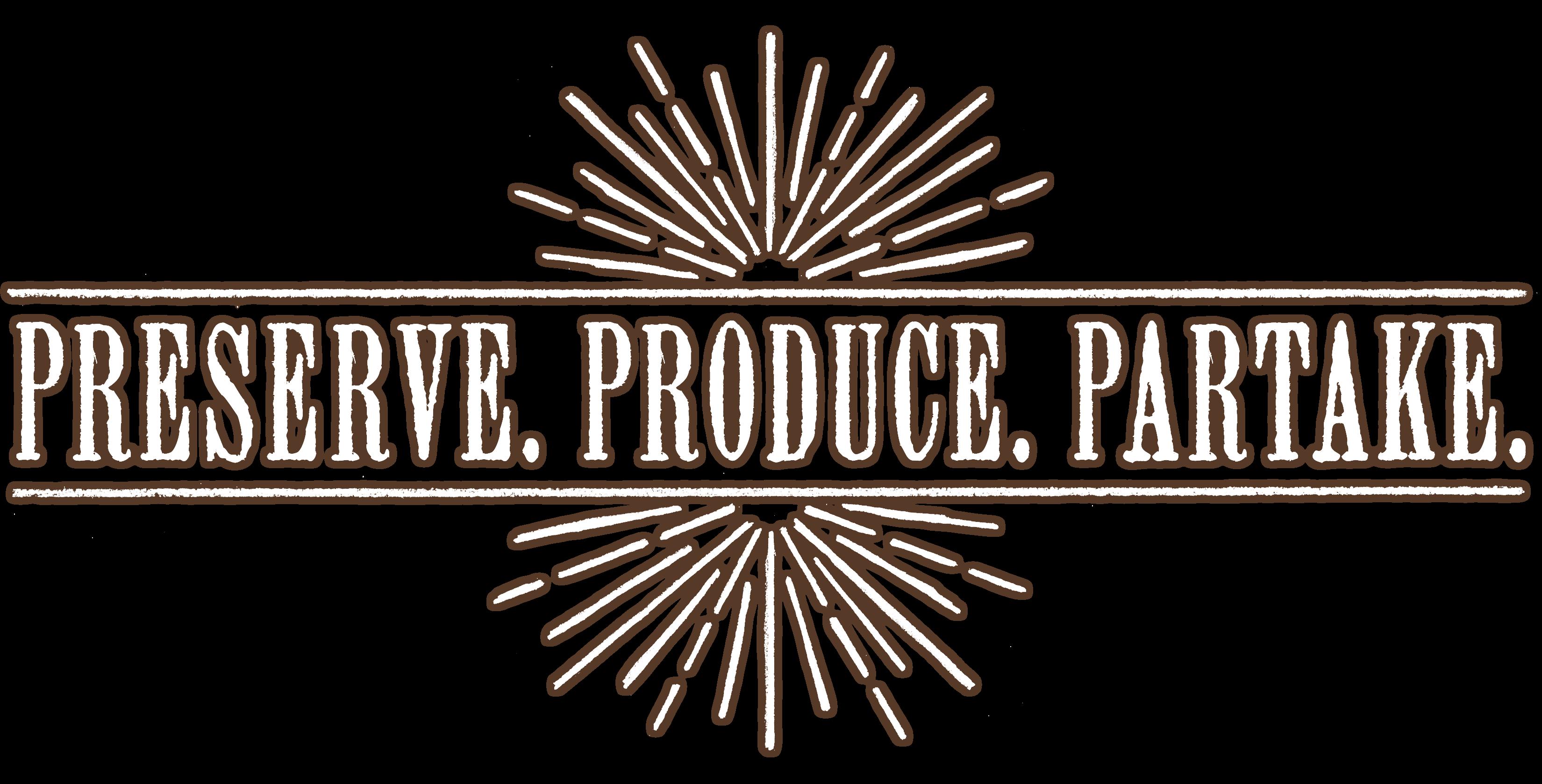 Preserve Produce Partake
